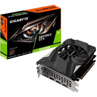 Відеокарта Gigabyte GTX 1660 Super Mini ITX (GV-N166SIX-6GD)