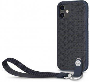 Чохол Moshi for Apple iPhone 12 mini - Altra Slim Case with Wrist Strap Midnight Blue (99MO117007)
