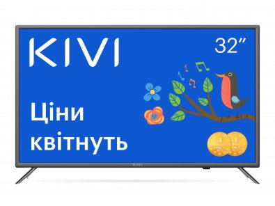 Телевізор LED Kivi 32H710KB (Smart TV, Wi-Fi, 1366x768)