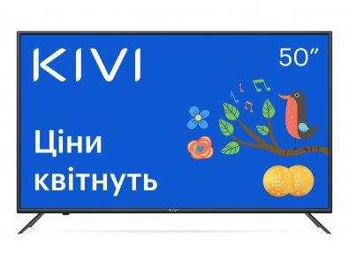 Телевізор LED Kivi 50U710KB (Smart TV, Wi-Fi, 3840x2160)