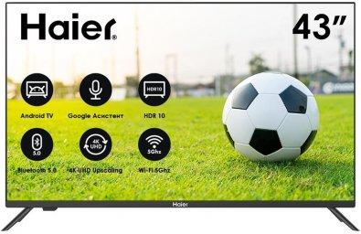 Телевізор LED Haier DH1U8SD00RU (Android TV, Wi-Fi, 1920x1080)