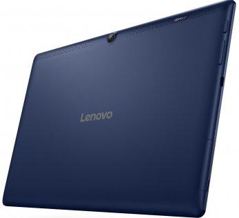 Планшет Lenovo IdeaTab 2 A10-30 (ZA0D0079UA) синій задня частина і камера