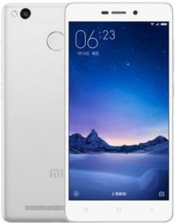 Смартфон Xiaomi Redmi 3s сріблястий