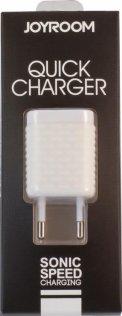 Мережевий зарядний пристрій JoyRoom Travel WY-002 EU 1хUSB 1A білий