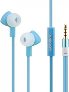 Гарнітура JoyRoom JR-E102 блакитна