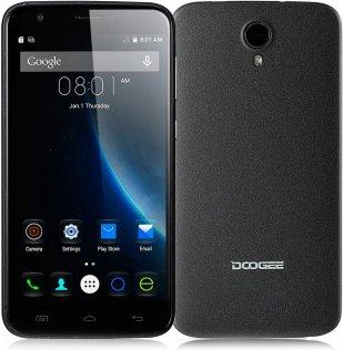 Смартфон Doogee Valencia 2 Y100 Plus чорний