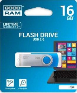 Флешка USB GoodRam Twister 16 ГБ (UTS2-0160B0R11) синя