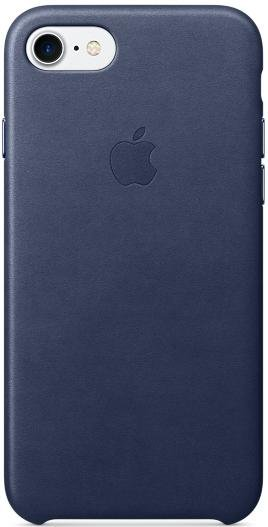 Apple Leather Case для iPhone 7, Midnight Blue