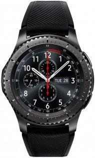 Смарт годинник Samsung SM-R760 Gear S3 Frontier Dark Grey (SM-R760NDAASEK)