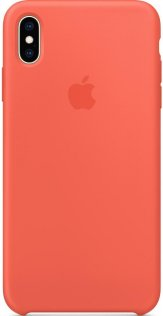 Чохол Apple for iPhone Xs Max - Leather Case Nectarine (MTFF2)