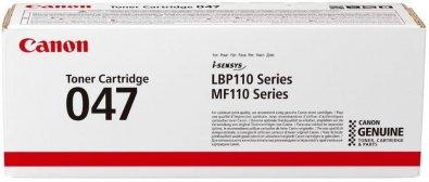 Тонер-картридж Canon 047 LBP112/MFP112/113 Black 1.6k