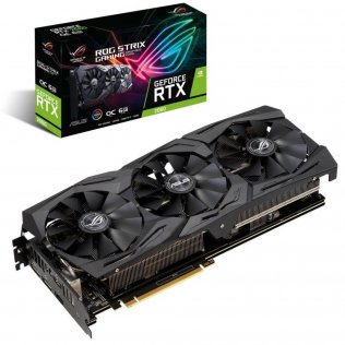 Відеокарта ASUS RTX 2060 Rog Strix Edition (ROG-STRIX-RTX2060-O6G-GAMING)
