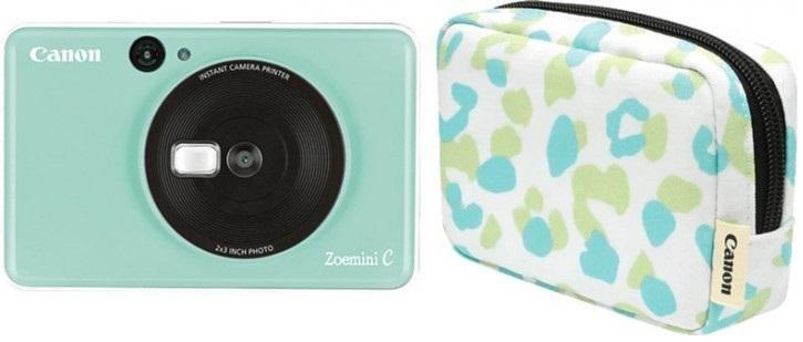 Selfie принтер Canon Zoemini C Mint Green Kit Essential (3884C011)
