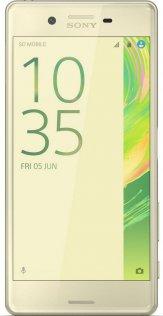 Смартфон Sony Xperia X F5122 / 2SIM золотий екран
