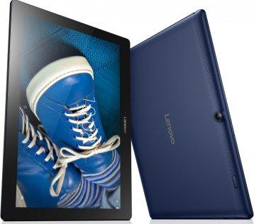 Планшет Lenovo IdeaTab 2 A10-30 (ZA0D0079UA) синій задня частина і екран