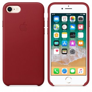 Чохол Apple for iPhone 7/8 - Leather Case PRODUCT Red (MQHA2ZM/A)