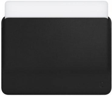 Чохол для ноутбука WIWU 13.3 MacBook Air 2018/ Pro - PU Leather Sleeve Black
