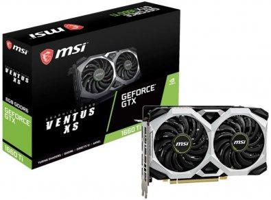 Відеокарта MSI GTX 1660 TI VENTUS XS 6G (GTX 1660 TI VENTUS XS 6G)