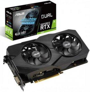 Відеокарта ASUS RTX 2060 Dual EVO (DUAL-RTX2060-6G-EVO)