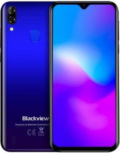 Смартфон Blackview A60 Pro 3/16GB Gradient Blue (6931548305781)