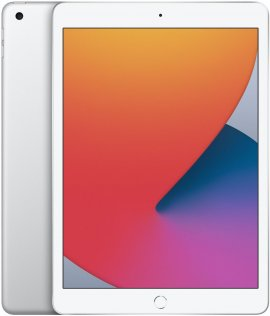 Планшет Apple iPad 2020 Wi-Fi 32GB Silver (MYLA2)
