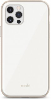 Чохол Moshi for Apple iPhone 12 / 12 Pro - iGlaze Slim Hardshell Case Pearl White (99MO113107)
