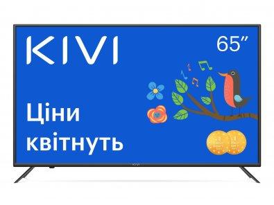 Телевізор LED Kivi 65U710KB (Smart TV, Wi-Fi, 3840x2160)