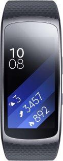 Фітнес браслет Samsung Gear Fit 2 темно-сірий