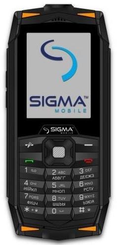 Мобільний телефон SIGMA X-treme DR68 Black-Orange