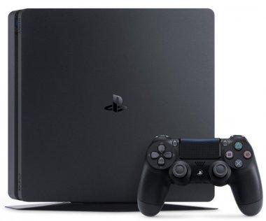Ігрова приставка Sony PlayStation 4 Slim 1TB Black (FIFA 18 / PS+14Day)