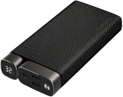 Батарея універсальна Puridea X02 20000mAh Leather Black