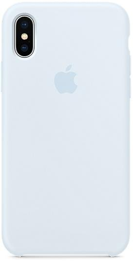 wholesale dealer e9cd8 2040f Чохол HiC for Apple iPhone X - Silicone Case Sky Blue (ASCLOXSB)