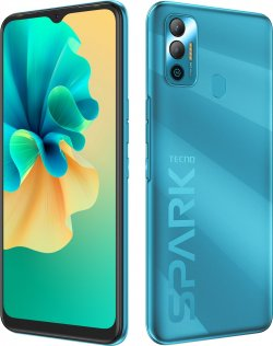 Смартфон TECNO Spark 7 KF6n 4/64GB Morpheus Blue (4895180766411)
