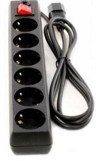 Мережевий фільтр Patron EXT-PN-SP-65U 2/6 чорний