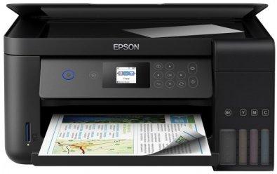 Багатофункціональний пристрій Epson L4160 with Wi-Fi (C11CG23403)