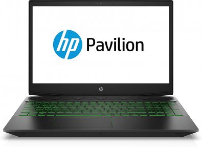 Ноутбук Hewlett-Packard Pavilion Gaming 15-cx00 4PR11EA Dark Grey