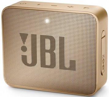 Портативна акустика JBL GO 2 Pearl Champagne (JBLGO2CHAMPAGNE)