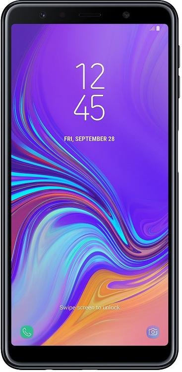 Смартфон Samsung Galaxy A7 2018 4/64GB SM-A750FZKUSEK Black