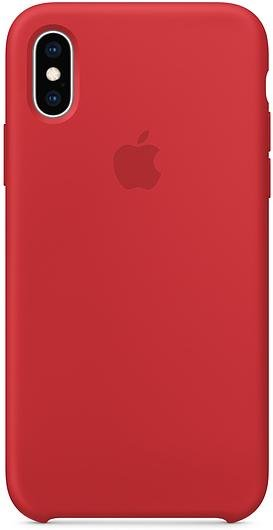 Чохол HCopy for iPhone Xs - Silicone Case Red (ACSXSRD)