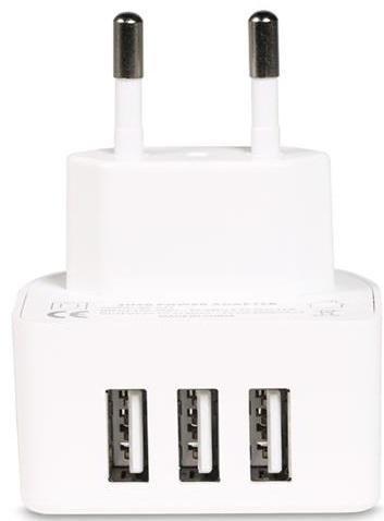 Зарядний пристрій Remax RP-U31 3xUSB White (RP-U31-EU-WHITE)