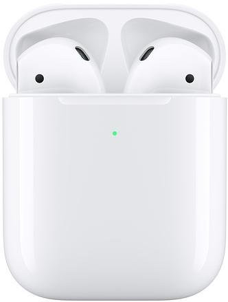 Гарнітура Apple AirPods 2019 with Wireless Charging Case White