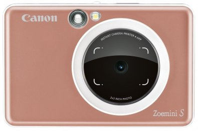 Портативна камера-принтер Canon ZOEMINI S ZV123 RG (3879C007)