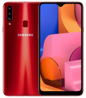 Смартфон Samsung Galaxy A20s A207 3/32GB SM-A207FZRDSEK Red