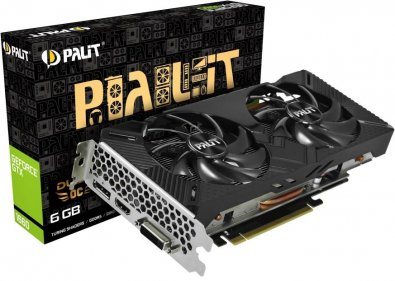 Відеокарта Palit GTX 1660 Super Dual OC (NE51660S18J9-1161A)