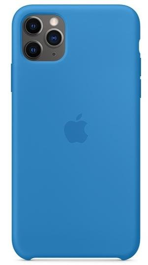 Чохол Apple for iPhone 11 Pro Max - Silicone Case Surf Blue (MY1J2)