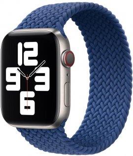 Ремінець HiC for Apple Watch 44/42mm - Braided Solo Loop Atlantic Blue - Size S (44/42mm Braided Atlantic Blue S)