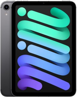 Планшет Apple iPad Mini A2568 2021 Wi-Fi Cellular 64GB Space Grey (MK893)