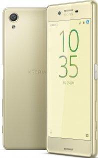 Смартфон Sony Xperia X F5122 / 2SIM золотий екран і задня сторона