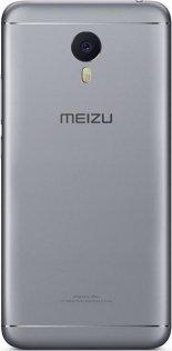 meizu m3 note grey ззаду