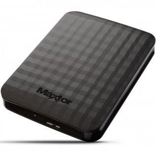 Зовнішній жорсткий диск Seagate Maxtor M3 Portable 1 ТБ чорний